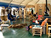 Arctic Wilderness Lodge - Great room