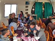Arctic Wilderness Lodge - Lodge dining area