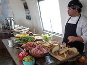 Arctic Wilderness Lodge - Freshly prepared meals