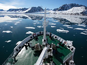 Akademik Sergey Vavilov Expedition Ship - View of the deck