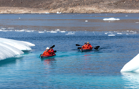 Arctic kayaking - Arctic kayaking
