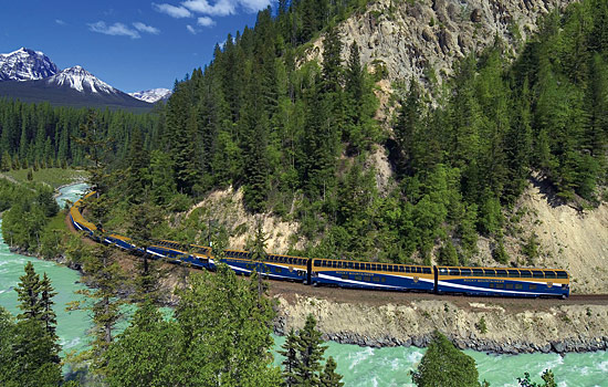 Include a Rocky Mountaineer train journey before or after your cruise