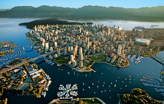 Stop in Vancouver before heading north