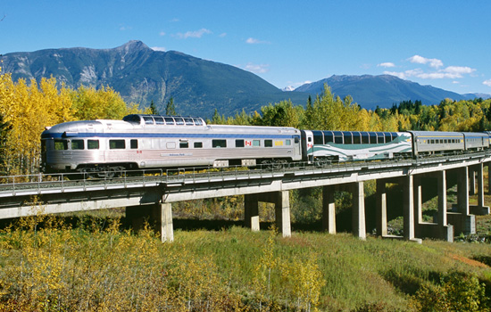 Taking the train to Toronto or Vancouver