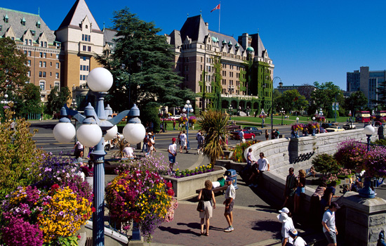 Add a visit to charming Victoria