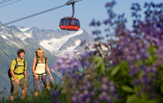 Visit the mountain village of Whistler