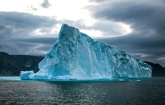 Impressive icebergs