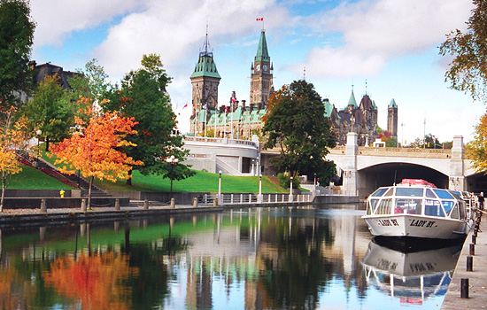 Sighteeing in Ottawa