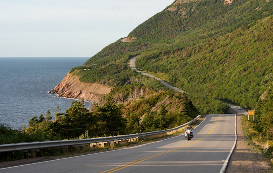 Road trip on the Cabot trail