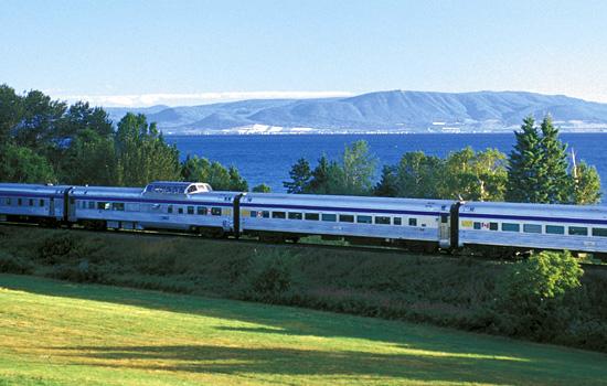 The Pan Canadian train journey on VIA Rail