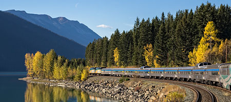 Read about the VIA Rail train