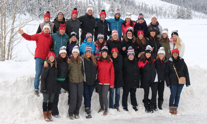 Fresh Tracks Canada Team